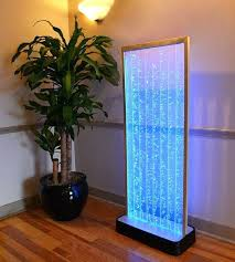 bubble wall fountain 4 foot bubble wall aquarium led lighting indoor panel water fall feature fountain on make bubble wall fountain