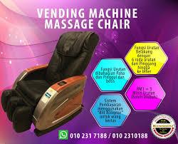Perniagaan Vending Machine Malaysia Beauteous Vending Machine Massage Chairkerusi Urut Layan Diri Menjadi Side