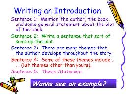 writing thesis based essays by cathy marvin reformatted by  writing an introduction sentence 1 mention the author the book and some general statement