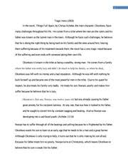 english stephen king essay why we crave horror movies 4 pages english 100 things fall apart essay
