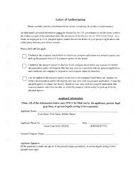 2017 Authorization Letter Templates Fillable Printable Pdf