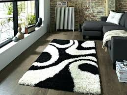 black and white area rug gy striped rugs australia