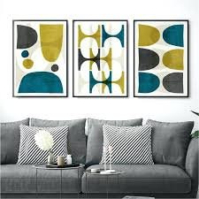 set of 3 wall art piece canvas australia