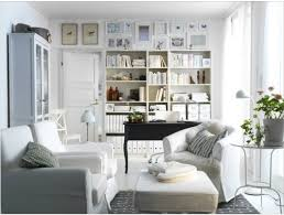 office living. Living Room Office Combo