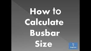 Copper Bus Bar Sizing Chart How To Calculate Busbar Size In Electrical Panel Calculate Aluminium Copper Busbar Size