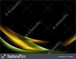 Templates Shiny Glow Waves Stock Illustration I4709874 At