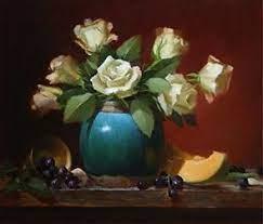 Elizabeth Pruitt (Robbins) - Roses & Jade - Liliedahl Art Video