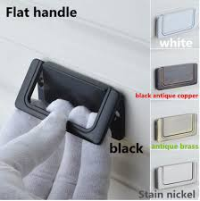 flat drawer pulls. Plain Pulls Modern Simple Balck White Stain Nickel Drawer Tv Cabinet Flat Pull Knob  Black Antique Copper With Drawer Pulls H