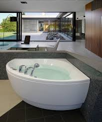 corner bathtubs for two. aquatica cleopatra: two-person rounded corner soaking tub bathtubs for two t