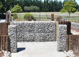 Small Picture gabion fence entry to public garden httpwwwgabion1comau