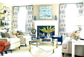 Brown And Blue Living Room Amazing Orange Living Room Curtains Brown Curtains For Living Room Off Black