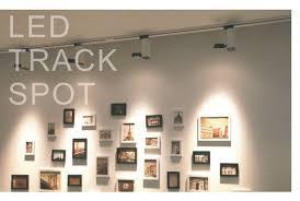 track lighting for art. gallery track lighting pure aluminium modern cob led 5w for art c a