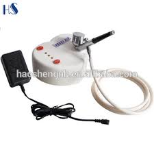 hs08 2ac sk professional airbrush makeup machine for temporary tattoo ink