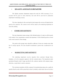 a project report on absenteesim and employee job satisfaction metcut babasabpatil pptmba com page 13 14 absenteesim and employee job satisfaction
