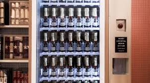 Champagne Vending Machine Inspiration Champagne World's First Champagne Vending Machine