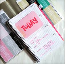 Academic Daily Planner Review Bloom Daily Planner 2015 2016 Academic Year Paperblushplans