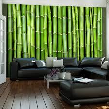 Fotobehang Bamboe Muur Karo Art Vof