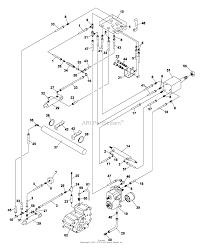 Bunton bobcat ryan 75 70254 onan gas parts diagram for hydraulic
