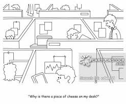Office arrangement layout Compact Office Layouts Cartoon Of 16 Cartoonstock Office Layouts Cartoons And Comics Funny Pictures From Cartoonstock