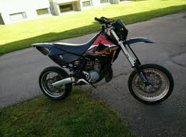 2005 custom aprilia mx 125 supermoto