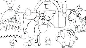 Fun Coloring Pages To Print Farm Animals Coloring Sheets Animal