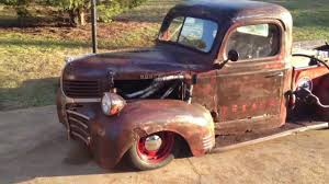 1941 Dodge WD-15 Pickup Rat Rod - YouTube