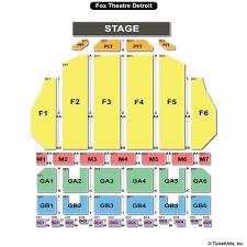 bring it live fox theatre detroit seating chart