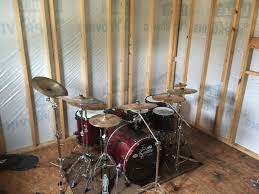 Drummusic Room Sound Proof Walls A Must   No Place Like Soundproofing A Bedroom For Drums