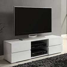white console cabinet. Modern TV Stand Media Entertainment Center Console Cabinet Drawers Gloss White N