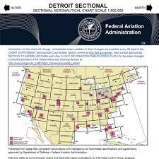 Vfr Detroit Sectional Chart