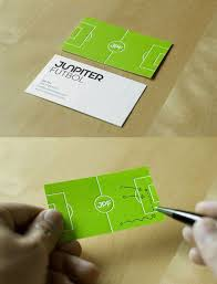 Soccer Business Card Soccer Sports Business Card Clever Design With Soccer