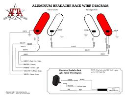 aluminum headache rack installation instructions headache rack wire diagram jpg