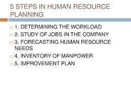human resource planning recruitment selection and placement reducing employee turnover 3 5 steps in human resource planning