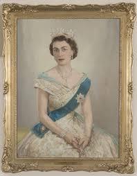 Portrait of HRH Queen Elizabeth II - City Collection