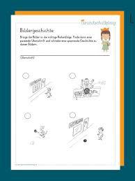 Im muttersprachlichen deutschunterricht haben sich bildergeschichten fest in der sekundarstufe i und ii insbesondere als anreize zum erzählen und schreiben und somit. Bildergeschichte