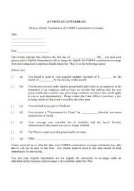 sle early lease termination letters