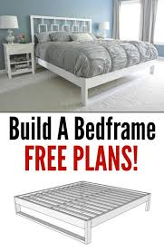 Check out the tutorial on how to make a #DIY simple bed frame. Looks