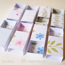 diy matchbox wedding favor