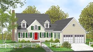 Spacious Cape Cod Home Plan  32453WP  Architectural Designs Cape Cod Home Plans