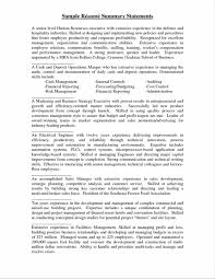 Agreeable Profile Summary Of Resume About How To Write A Summary