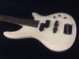b 325 complete no solder diy kit full size electric bass guitar free tuner picks