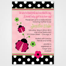 The Interesting Ladybug Baby Shower Invitations U2014 LIVIROOM DecorsFree Printable Ladybug Baby Shower Invitations