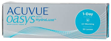 Acuvue OASYS 1-Day with HydraLuxe (30 <b>линз</b>) — купить по ...