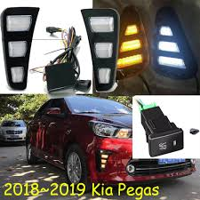 Kia Ceed Daytime Running Lights Us 57 0 5 Off 2018 2019year Headlamp For Kia Pegas Daytime Light Ceed Car Accessories Led Drl Headlight For Pegas Fog Light In Car Light Assembly