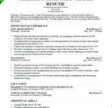Pharmacy Tech Resume Template Adorable Pharmacist Cv Example Pdf Resume Examples Tech Templates Pharmacy