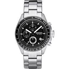 fossil men s decker chronograph watch ch2600ie