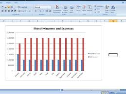 How To Make Expense Chart In Excel Personal Expense Tracker Worksheet Budget Chart Template Excel