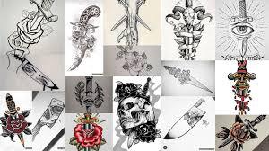 значение тату нож клуб татуировки фото тату значения эскизы