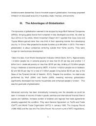 essay about globalization co essay about globalization