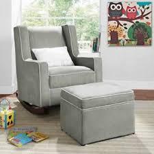 image is loading grayrockingchairnurseryfurniturebabykidsrelax grey rocking chair r89